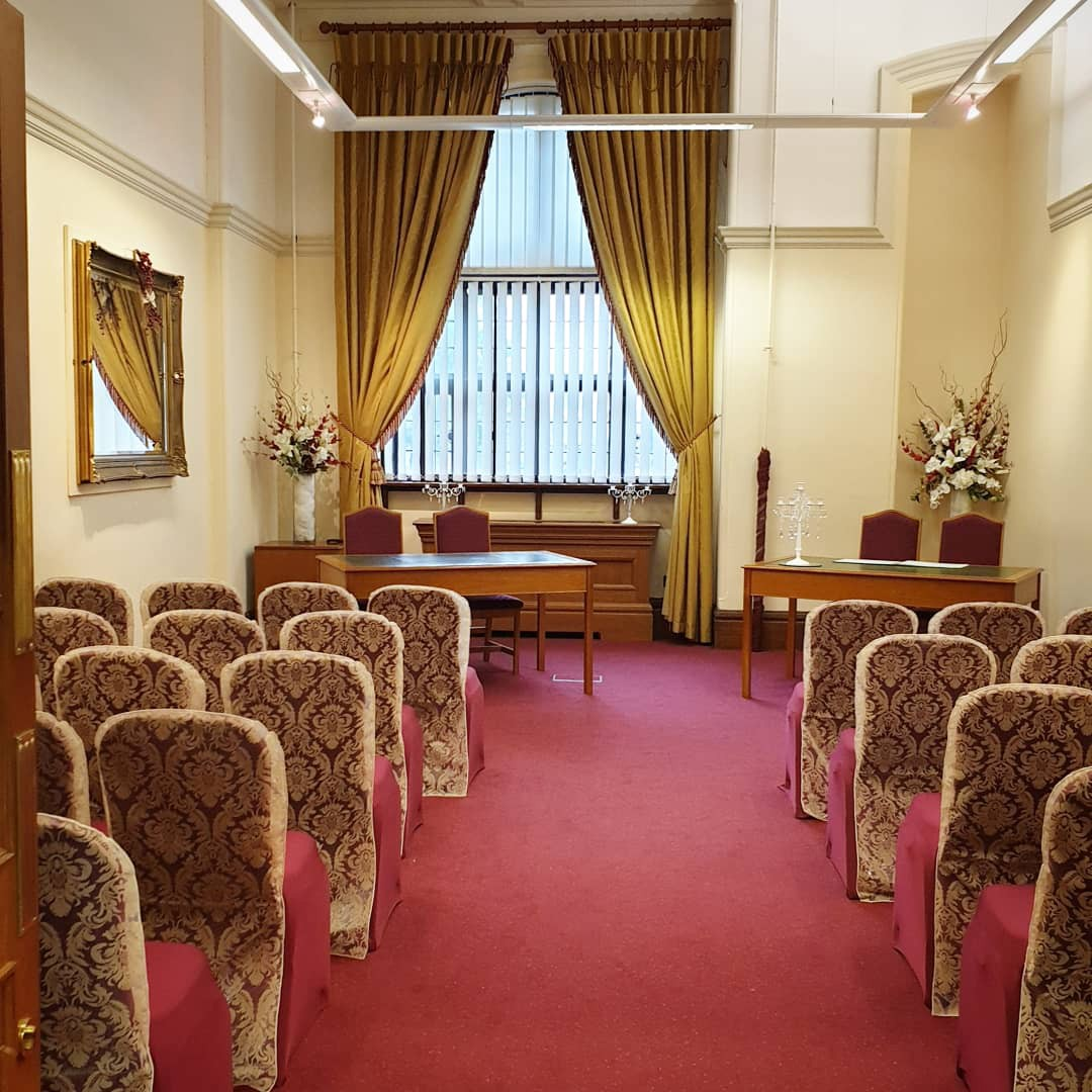 The Arundel Ceremony Room at the Town Hall