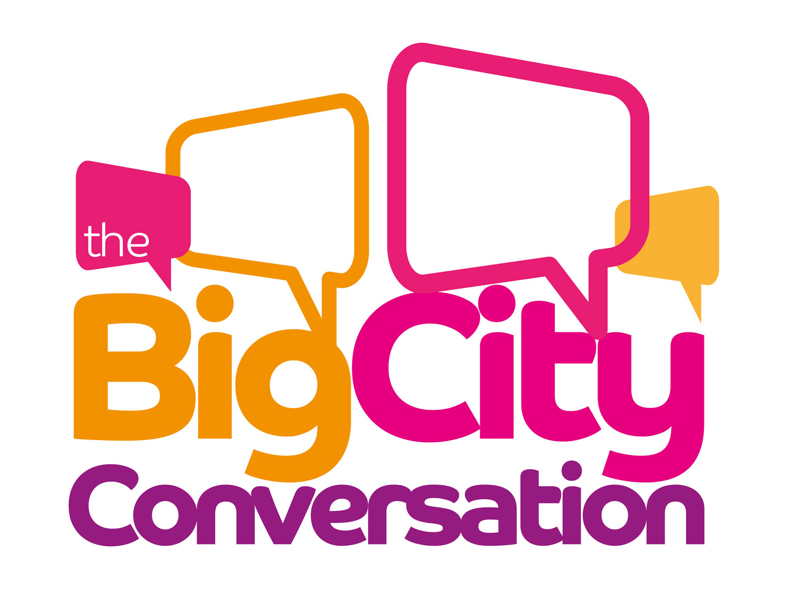 The Big City Conversation header